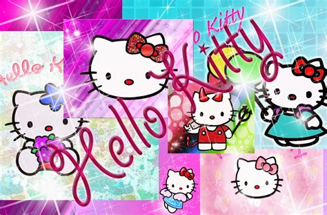 wallpaper hello kitty begerak pin pin widescreen hello wallpaper kitty background