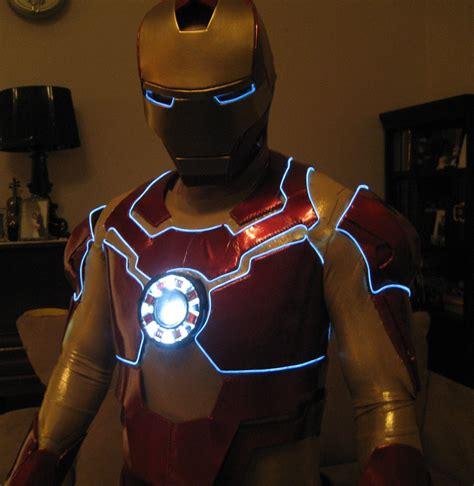 ironman costume vinyl foam