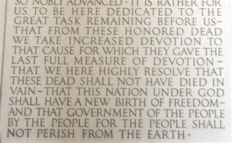 lincoln memorial words will the real gettysburg address stand up word