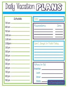 Free Vacation Planner Template Vacation Itinerary Template 7 Download Free Documents