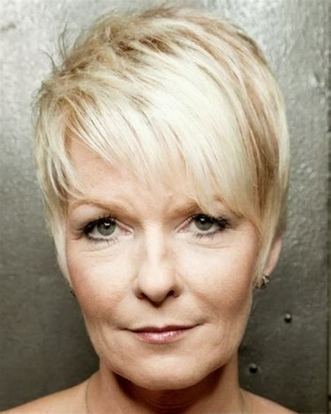images of short hair cuts for older women showing the back senior women short hairstyles this year