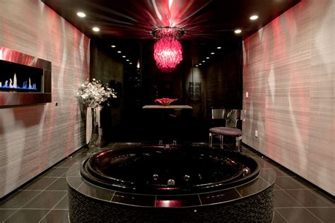 black white pink bathroom 24 pink chandelier light designs decorating ideas