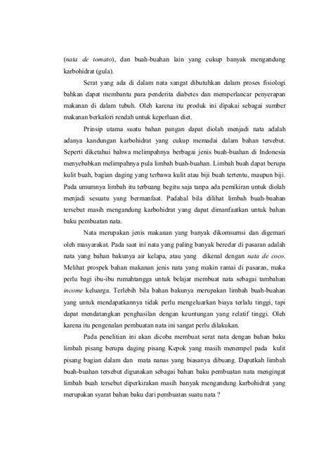 laporan praktikum membuat nata de coco laporan nata