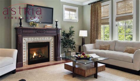 Montebello See Through Fireplace by Astria Montebello See Through Fireplace Fireplaces