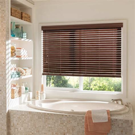 How To Clean Faux Wood Blinds In Bathtub by Bathroom Window Blinds And Shades Steve S Blinds Steve