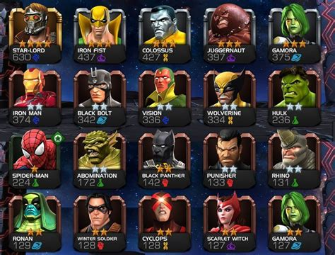 best marvel best chions marvel s contest of chions