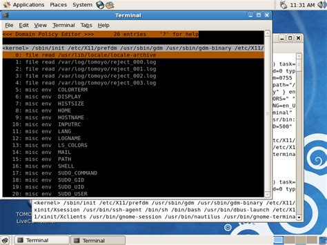 tutorial acl linux tomoyo linux livecd tutorial for centos 5