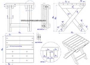 Wood folding camp table plans folding wooden step stool plans wall