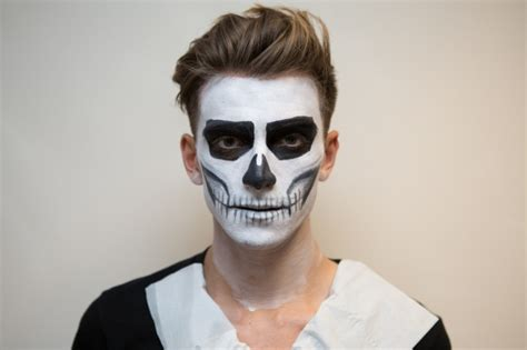 ideas  spooky halloween face paint suggestions