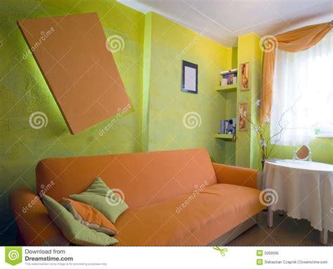 light orange bedroom walls orange bedroom royalty free stock photo image 3269095