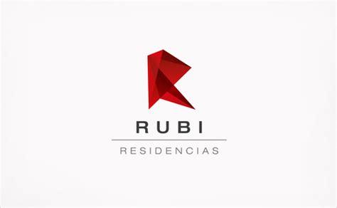 logo design identity rubi ruby real estate corporate identity logo branding