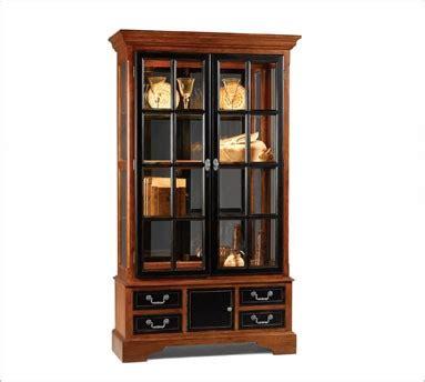 Cheap Used Curio Cabinets Curio Cabinet Glass Curio Cabinet