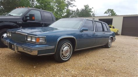 cadillac limo for sale 1986 cadillac fleetwood limo for sale