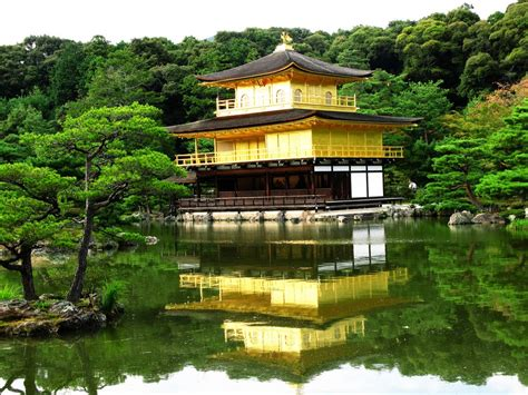 Pavillon Japan by World Visits Golden Pavilion Beautiful Temple Covered By