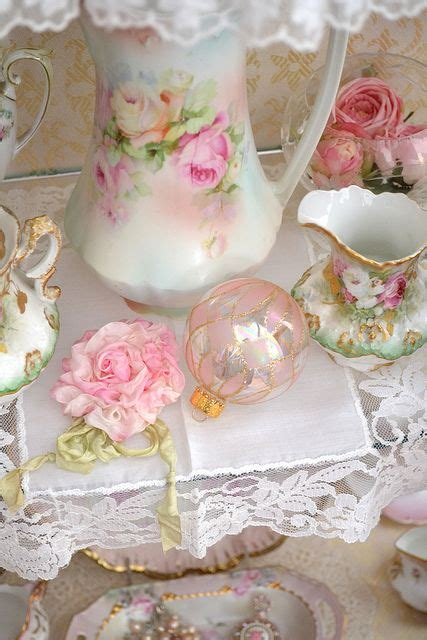 shabby chic tea set 17 best images about vintage teapot on