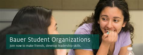 Uh Mba Student Organizations by Student Organizations Bauer College Of Business
