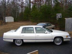 1995 Cadillac For Sale Find Used Cadillac Sedan 1995 Pearl White White