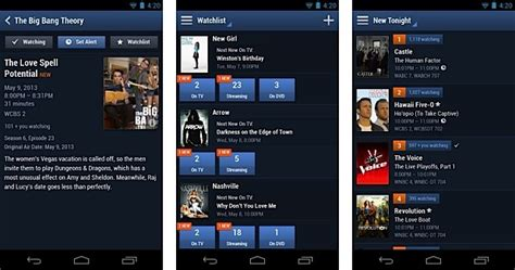 tv listings for android tv guide redesigns mobile app for android catches up with ios version