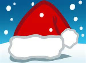 how to draw a santa hat for kids step by step christmas