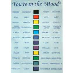 mood colors chart mood jewelry 187 mood necklaces 187 magnetic hematite mood necklace images frompo
