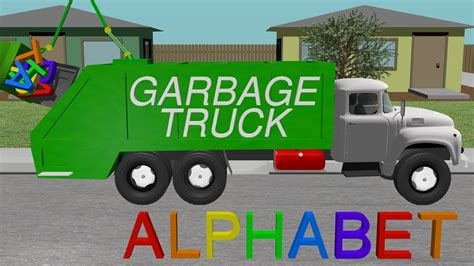 garbage trucks for kids kids learning wallpaper images