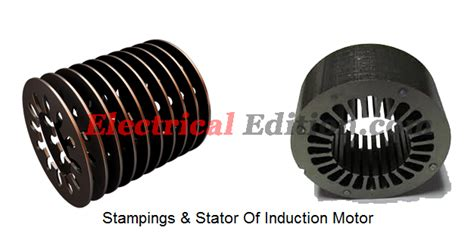3 phase induction motor stator winding construction of induction motor electrical edition