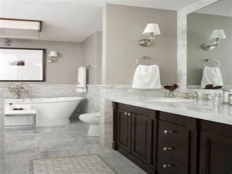Glamorous Homes Interiors by White Marble Bathrooms Grey Marble Countertops Gray And
