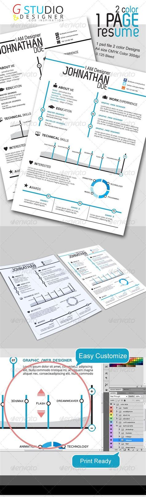 resume fonts and templates dianelee gstudio 2 color one page resume resume template download