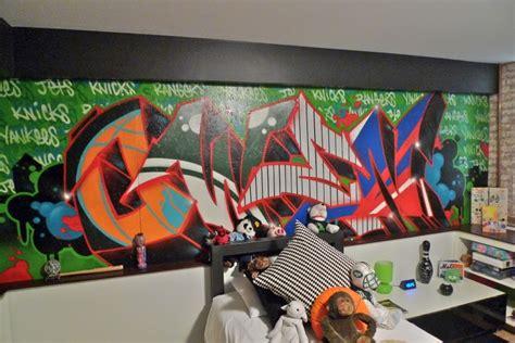 graffiti room tribeca citizen loft peeping 2012 loft tour preview 1