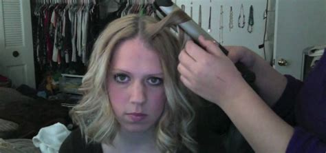 medium hairstyles using curling iron how to curl hair with a flat iron like