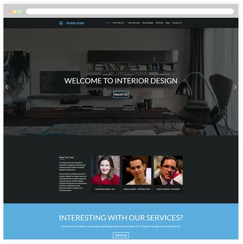 make your website interior design yola free responsive interior design wordpress theme