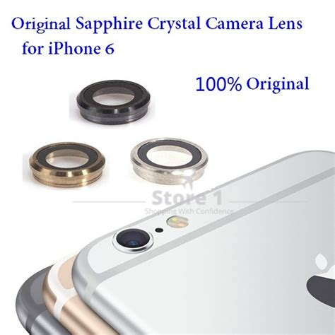 Lens Lensa Kamera Iphone 6 Original aliexpress buy 100 original for apple iphone 6 lens sapphire back