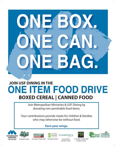 6 best images of food drive flyer ideas pet food drive