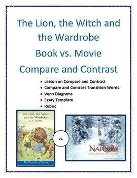The The Witch And The Wardrobe Facts by The The Witch And The Wardrobe Compare And Contrast