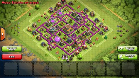 clash of clans ayuntamiento de aldea 8 thundercoc thunder clash of clans aldea