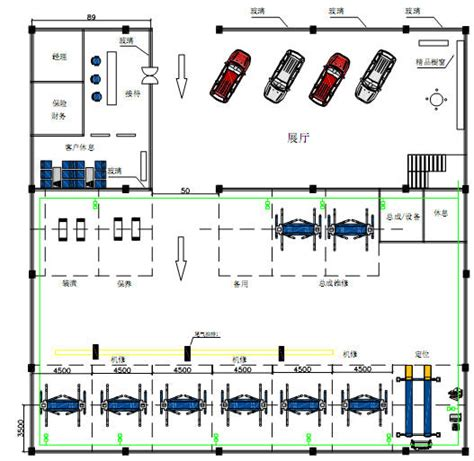 Auto Workshop Layout Equipments | 3 auto workshop design sles and equipment installation