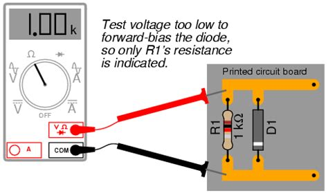 how to test diode polarity lessons in electric circuits volume iii semiconductors chapter 3