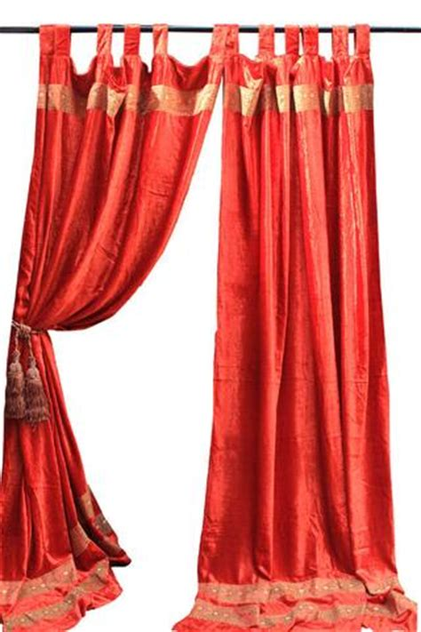 velvet curtains india indian fabric red velvet curtain decorative drapes