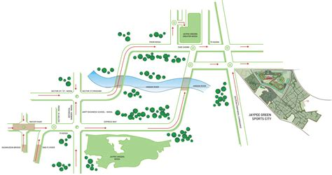 map location location map jaypee greens sports city greater noida residential property buy jaypee