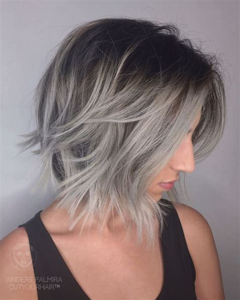 gray fine straight hair styles aveda wavy long blonde bob short hair beach wave medium