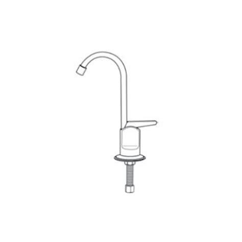 Touch Flo Faucet by Pasco 2040 Touch Flo Filter Faucet Chrome Faucetdepot