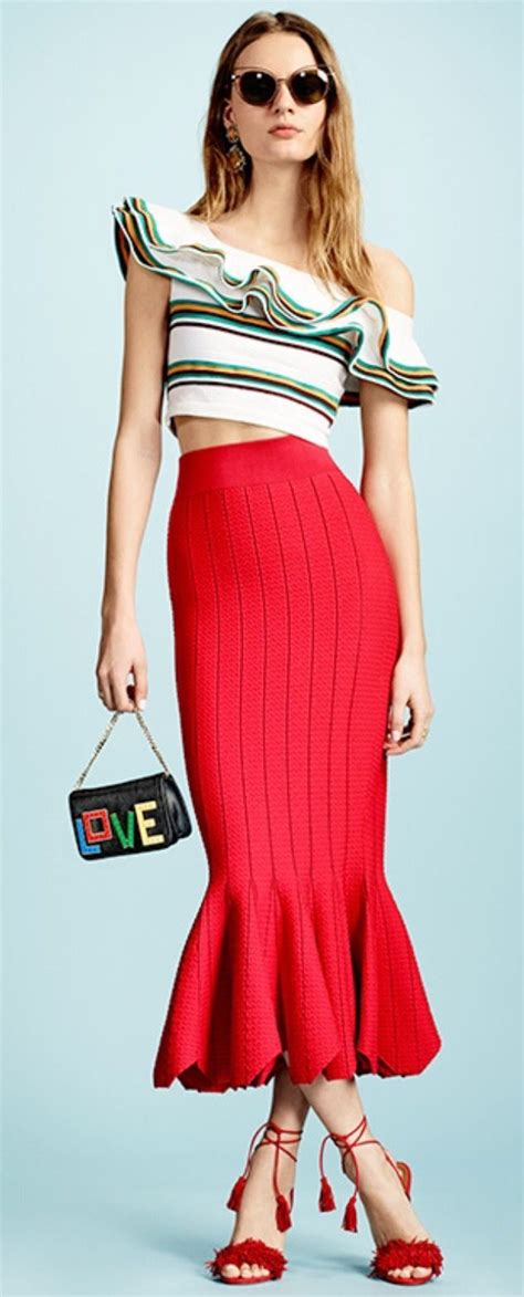 Trumpet Skirt trumpet skirt style skirts trumpet and