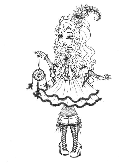 happily ever after high coloring pages royal rebel ever after high coloring pages free coloring