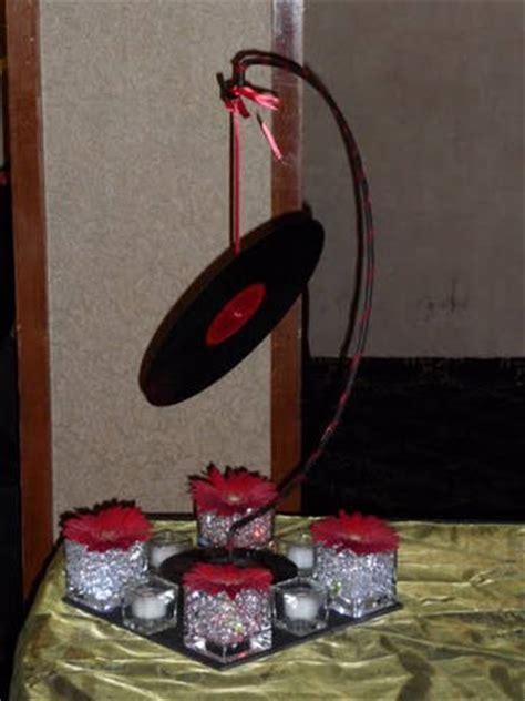 rock and roll theme decorations wedding decoration centerpiece ideas centerpieces ideas