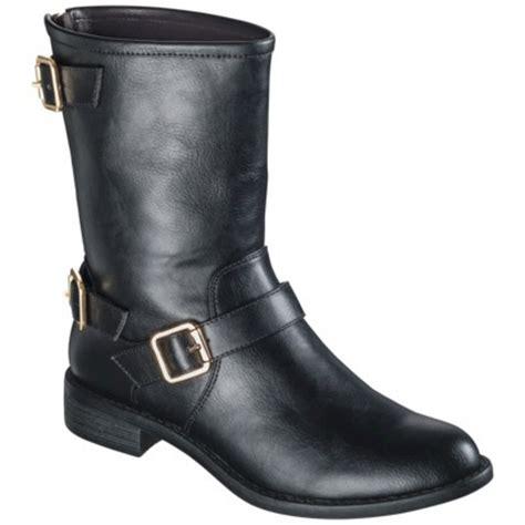 s mossimo 174 kyla buckle boot black target