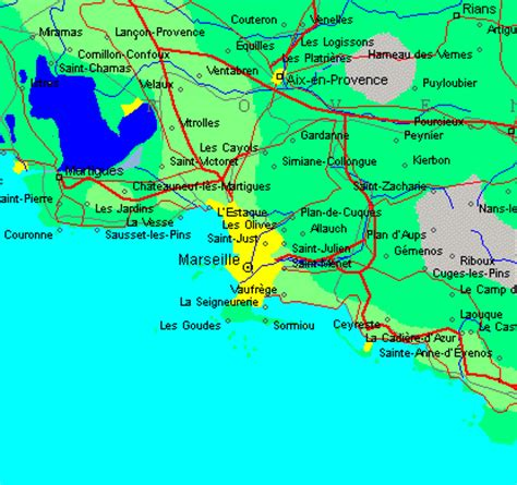 map of marseille ess 2001 13th european simulation symposium conference venue