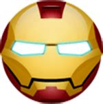 custom superhero chat stickers facebook emoticons
