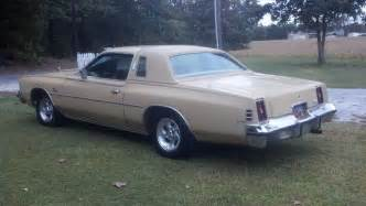 Dodge Cordoba 1977 Chrysler Cordoba Overview Cargurus