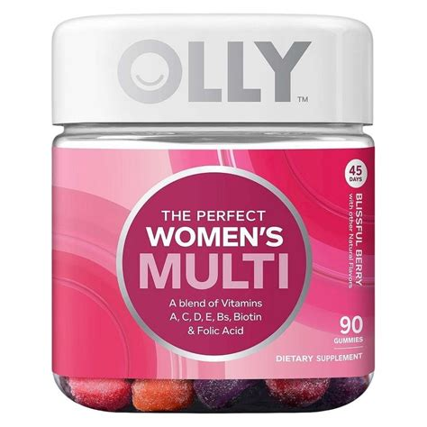 Top Muti Vitamins Detox by Olly The S Multi Vitamin Blissful Berry
