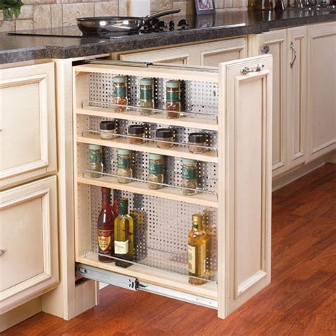 Kitchen Desk Organizer Rev A Shelf Kitchen Desk Or Vanity Base Cabinet Pullout Organizer W Perforated Accessory